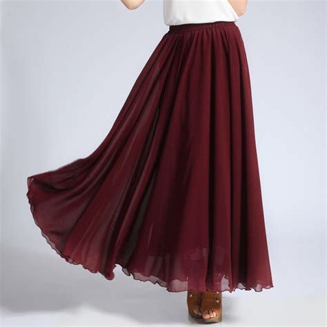 17 best ideas about chiffon skirt on maxi