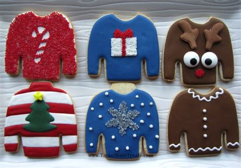 Cookie Sweater these quot sweater quot cookies by www taylormadetreats needing ideas for a