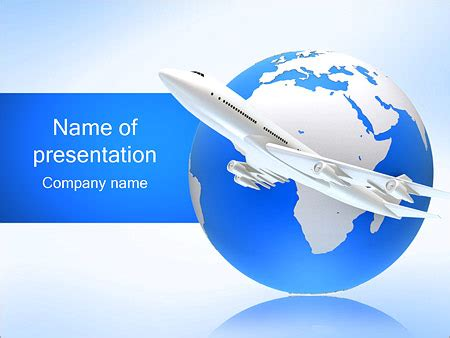 Air Transport Powerpoint Template Backgrounds Id Air Powerpoint Template