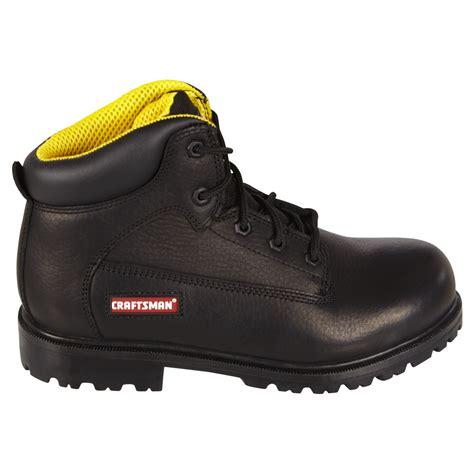 craftsman boots craftsman kahn black s soft toe leather work boot