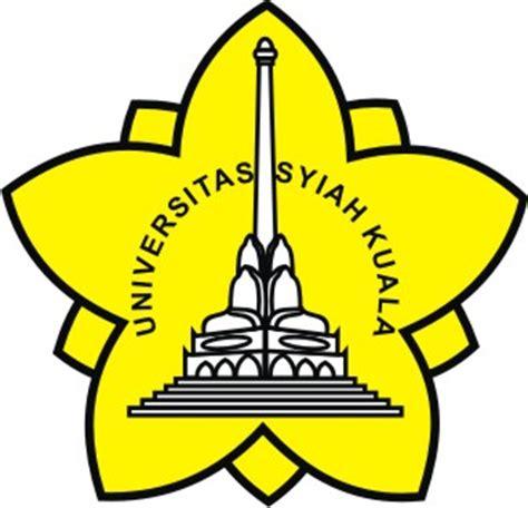 Emblem Logo Tersformen Warna Kuning logo unsyiah vector