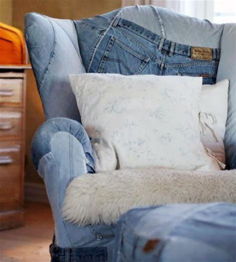 decorating with denim denim interior trends ways to recycle for crafts and decor