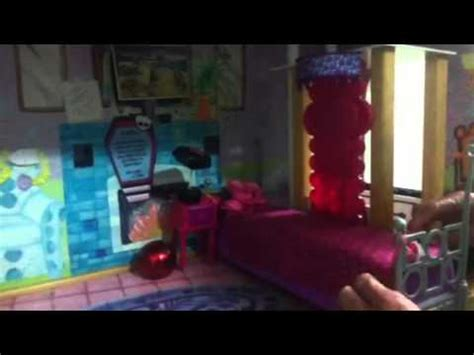 my monster high doll house tour my monster high doll house tour youtube