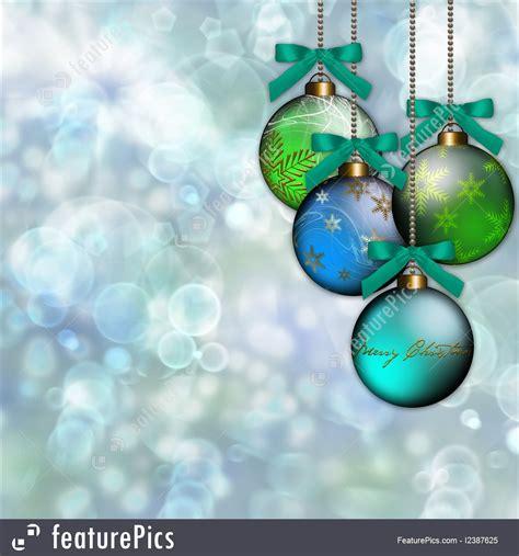 ornaments blue blue green ornament background