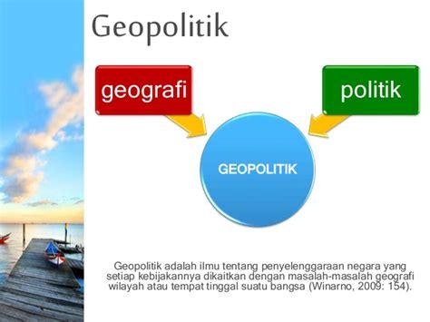 geopolitik adalah wawasan nusantara