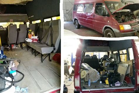 van  phils diy camper  wait
