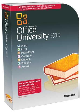Microsoft Mba by Microsoft Office 2010 Retail Box