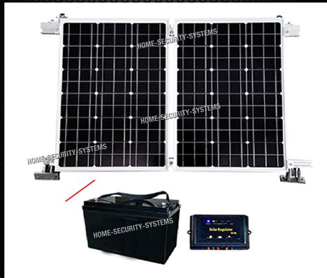 house security system 4g house solar farm