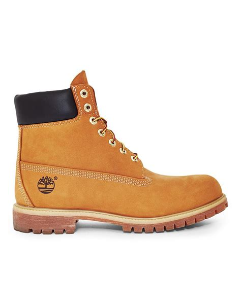 buy mens timberland boots timberland premium 6 mens boots gold n79r2477 shoes