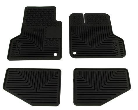 jeep slush mats tj wrangler slush floor mats set of 4 tjslushset