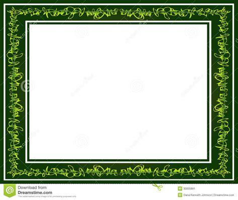 Whimsical House Plans green graffiti scribble border stock image image 30005891