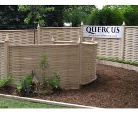 Metal Garden Wall Trellis Curved Fence Panels Quercus Uk Esi External Works