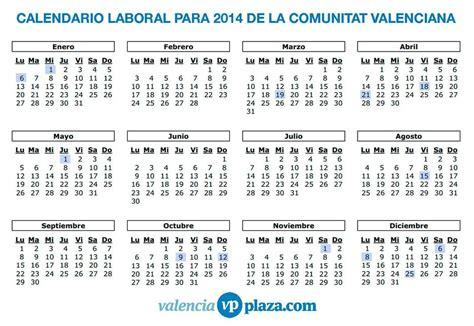 Calendario Compartido Whatsapp As 237 Es El Calendario Laboral 2014 De La Comunitat Valenciana