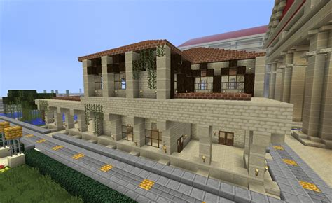 house style minecraft project