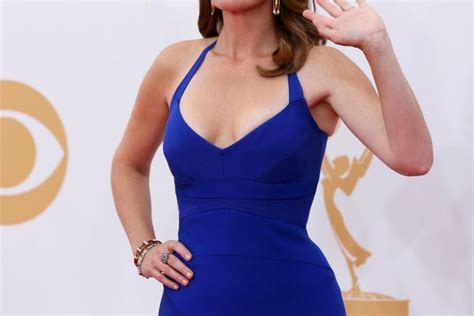 Poehler Wardrobe Malfunction by Tina Fey Wardrobe Nip Slip Emmys 2013 Suffers