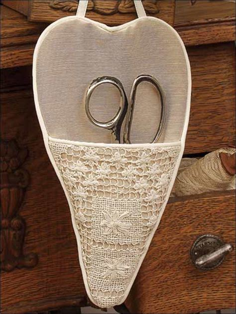 scissors holder pattern free sewing the sewing room heart pocket scissors keeper