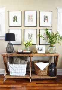 Entry Way Table Decor by 11 Tips For Styling Your Entryway Table
