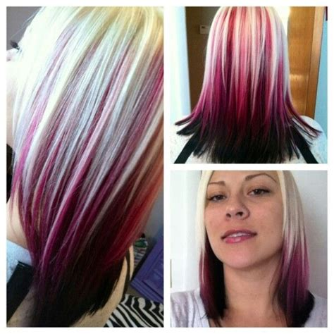short hairstyles color streaks 107 best images about hair styles on pinterest pixie
