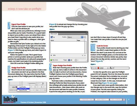 indesign tutorial pdf free download indesign tutorial preflight files in cs4 creativepro com