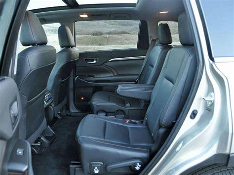 Toyota Highlander With Captain Seats 2014 Suv With Second Seat Captain Car And Third Row