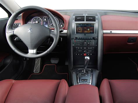 peugeot 407 coupe interior photo 407 coupe interieur