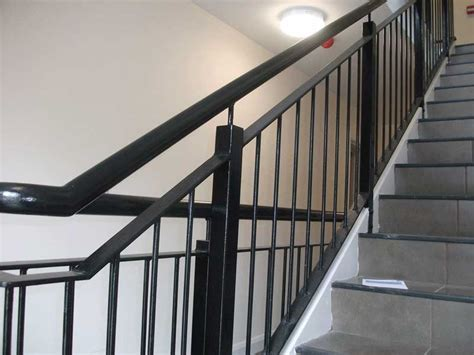 Black Handrail For Stairs Black Handrails For Stairs Pictures To Pin On