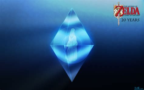 blue zelda wallpaper alttp 20 years crystal zelda wallpaper by blueamnesiac on