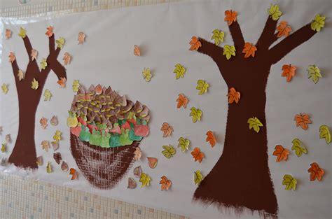 decorar hojas de otoño guarderia oto 241 o murales y paredes 22 imagenes educativas