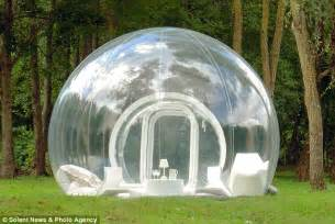 bubble tent transparent bubble tent puts cers under the stars but
