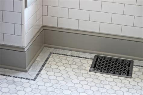 tile baseboard in bathroom bathroom quarter design studio
