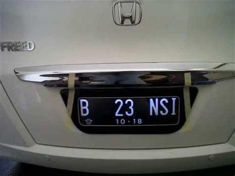 Cover Plat Nomor Acrylic cover plat nomor mobil dan motor