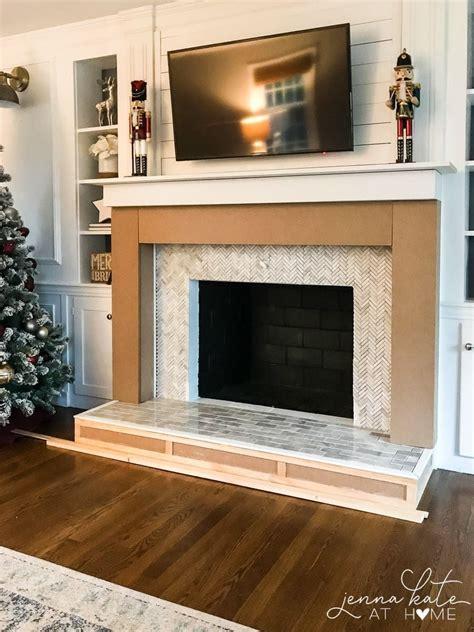 build  fireplace surround   build