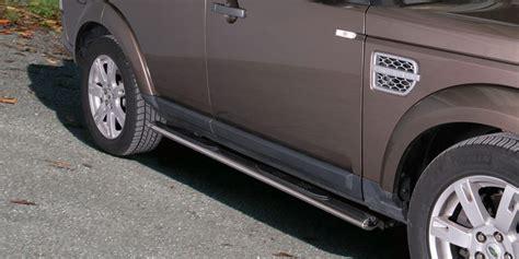 pedane per fuoristrada pedane inox land rover discovery 4 2012