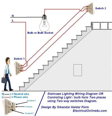 lighting wiring diagram 2 way wiring diagram with