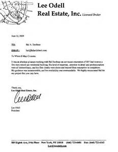 letter of occupancy template hal dorfman architect new projects and directions