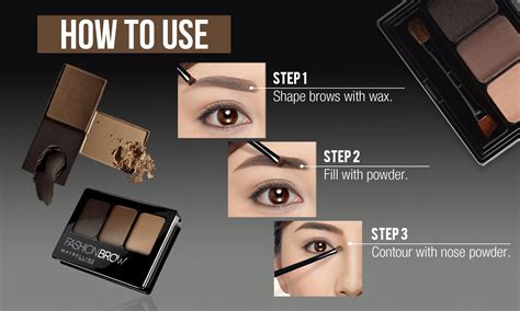 Maybelline Fashion Brow Brown maybelline fashion brow palette brown lazada ph