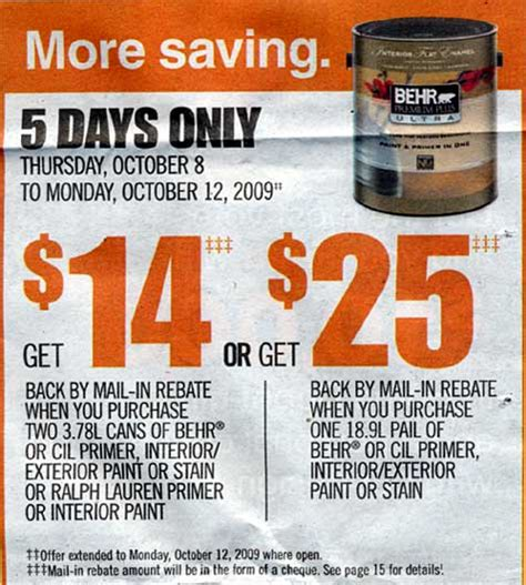 home depot flyer image search results