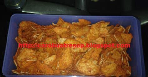 membuat kentang goreng renyah tahan lama cara membuat basreng kering renyah pedas resep masakan