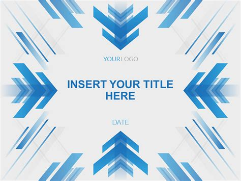 arrow powerpoint template abstract arrows powerpoint template