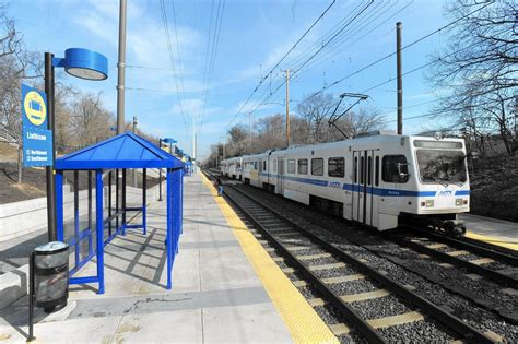 two light rail stations near bwi to for crossing