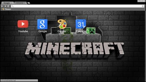 google themes awesome 12 top minecraft chrome themes for true fans only brand