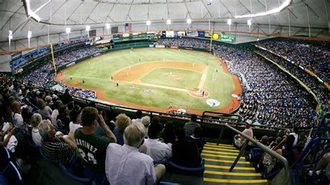 what is the seating capacity of tropicana field tropicana field seating chart pictures directions and