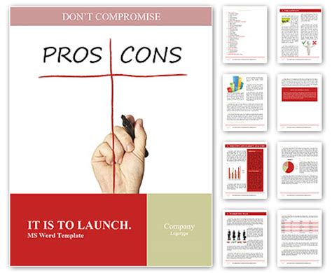 Pros And Cons Report Template