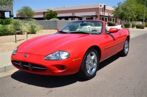 how can i learn about cars 1999 jaguar xk series engine control find used 1999 jaguar xk series in scottsdale arizona united states for us 7 700 00