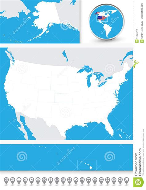 blind map usa blind map of the usa