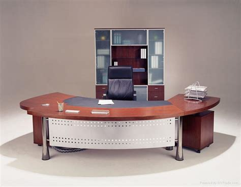 Modern Wood Office Desk Modern Executive Table Design For Your Work Area Designwalls