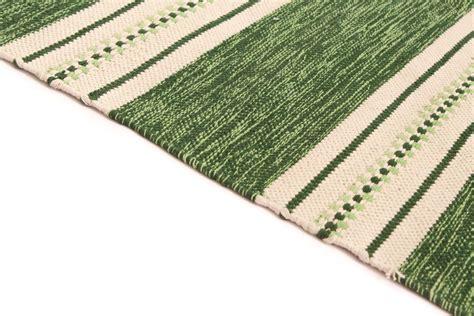 large rag rugs rag rugs large kajsa green 160 x 230 cm
