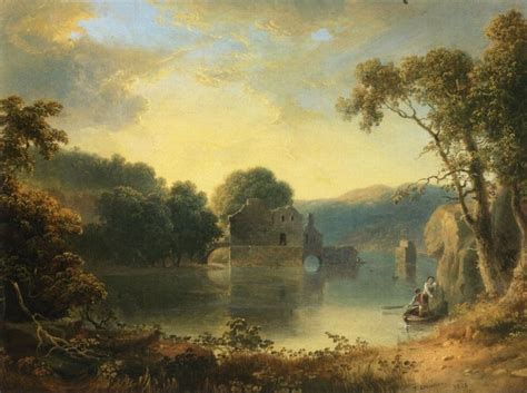 Landscape Artwork For Sale Doughty Ruins In A Landscape Painting Best
