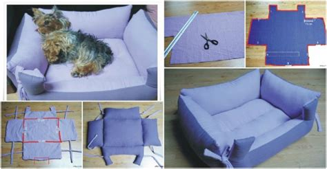 how to make a dog bed diy dog bed tutorial how to instructions