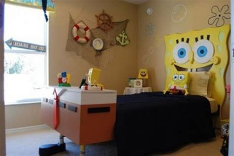 spongebob bedroom decor spongebob themed kids bedroom decor home interior design